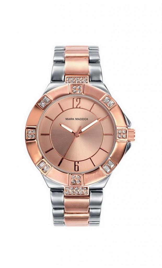 Reloj mujer Mark Maddok bicolor