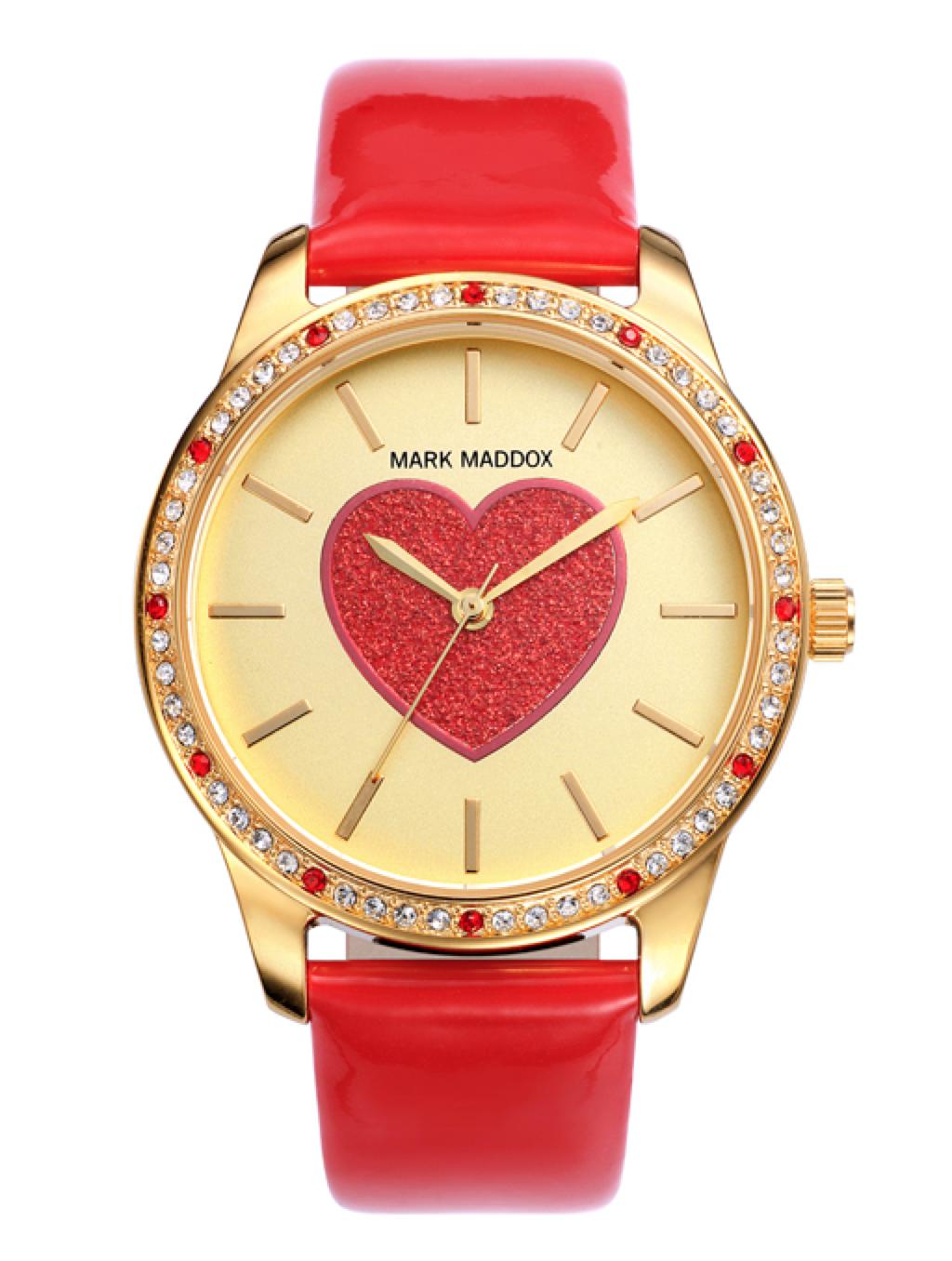 Reloj Mark Maddok corazón