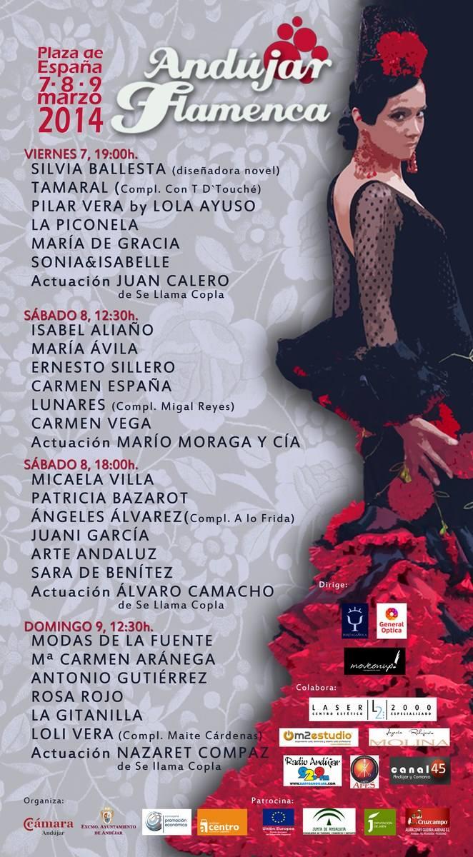Cartel Andújar flamenca