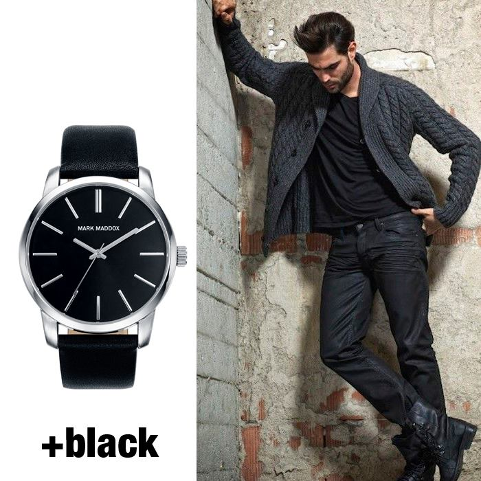 Reloj Mark Maddok black