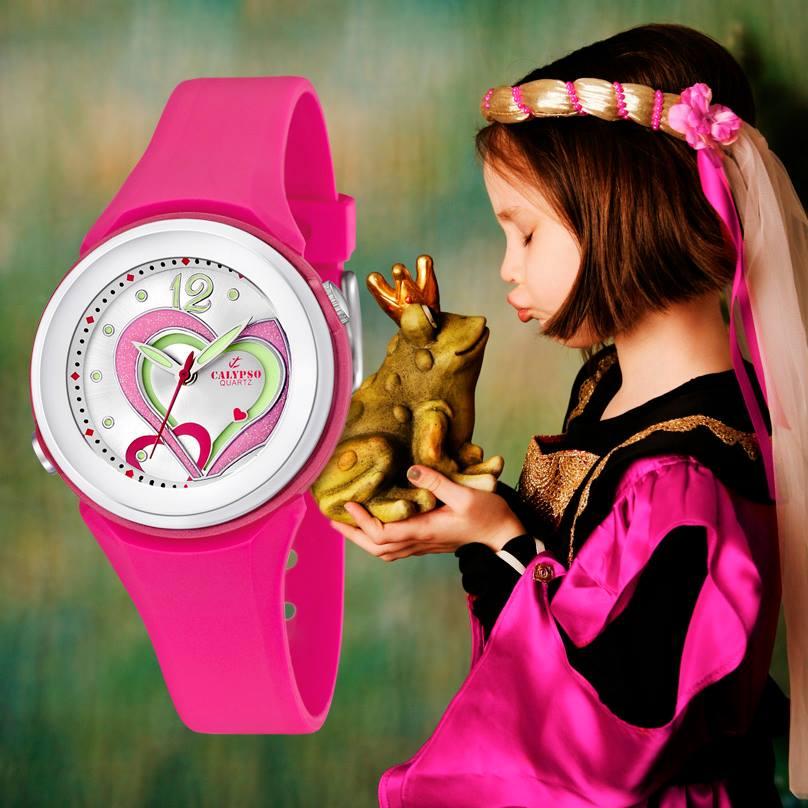 Reloj Calypso rosa