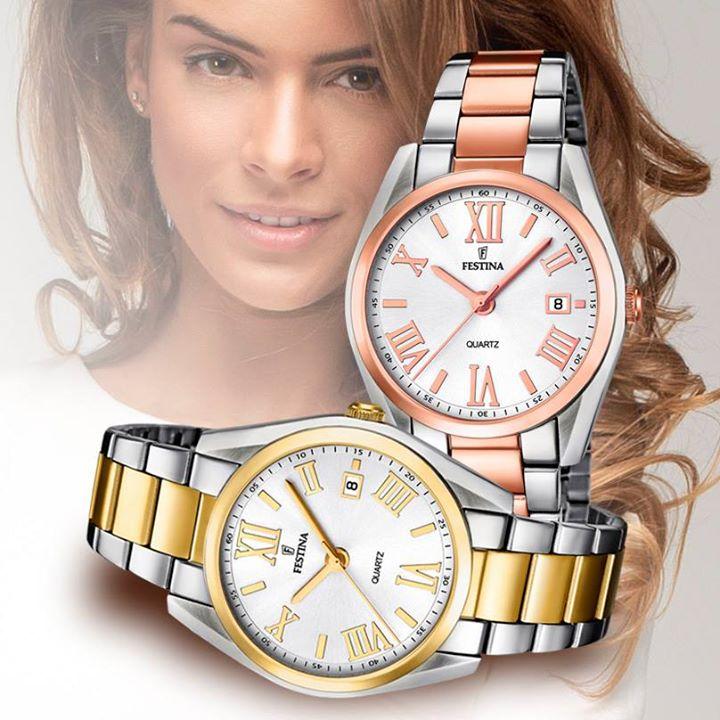 Relojes mujer Festina bicolor