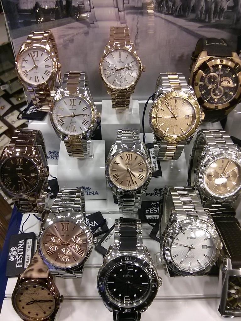Relojes Festina para mujer en joyería Molina
