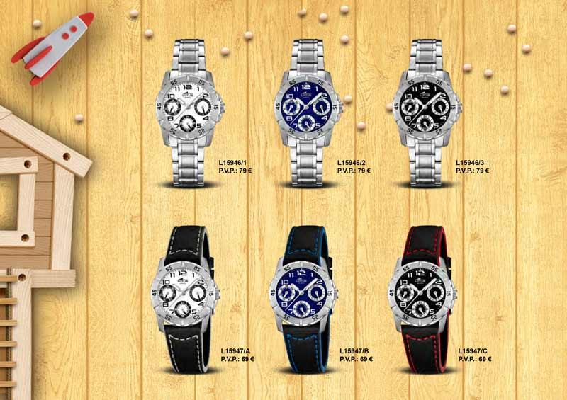 Relojes Lotus de comunión L15946 y L15947
