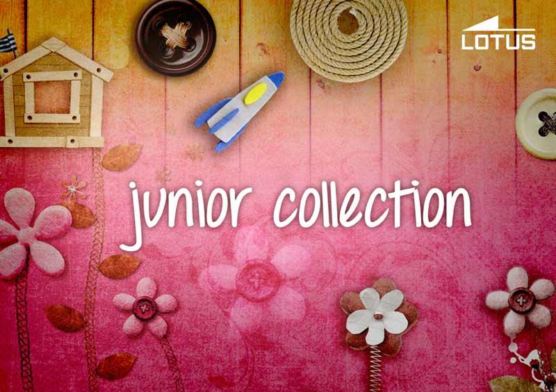 Colección junior comunión Lotus 2015