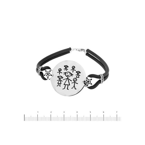 pulsera seño rodeada de niños k-00545-pr02