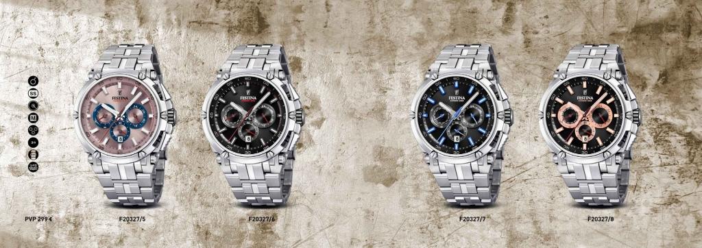 reloj-crono-bike-Festina F20327 colores
