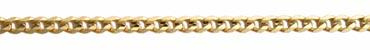 cadena barbada concava diamantada 6 caras