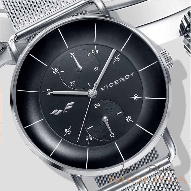 reloj-Viceroy-Antonio-Banderas-malla-negro