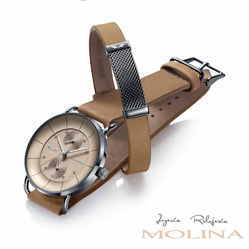 relojes-Viceroy-Antonio-Banderas-hombre-marron