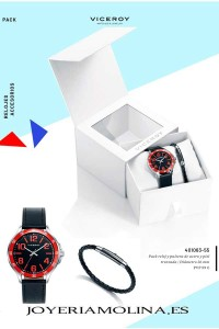 relojes comunión niño con pulsera trenzada viceroy catalogo