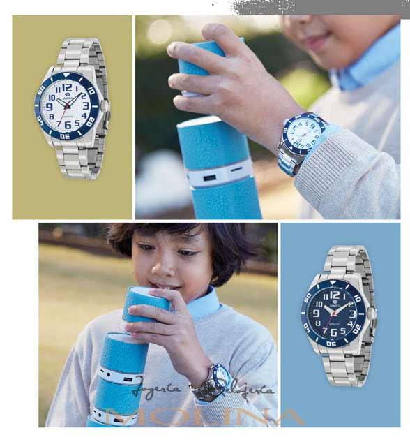 relojes comunión Marea niño armys