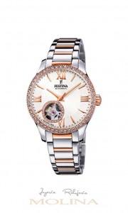 reloj Festina automatico mujer