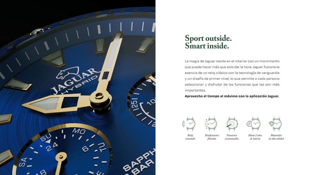 Reloj Jaguar inteligente