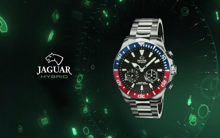 Jaguar híbrido reloj hombre