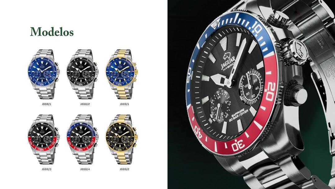 Colección relojes Jaguar híbridos