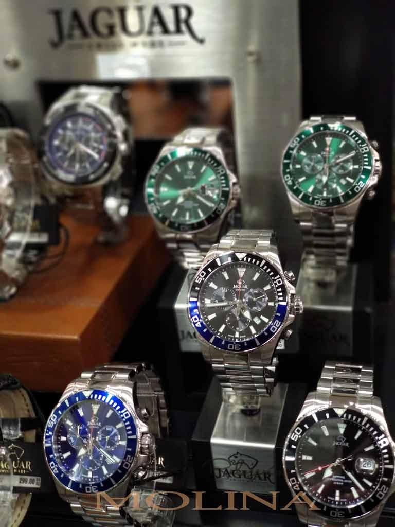 Relojes Jaguar en Andújar