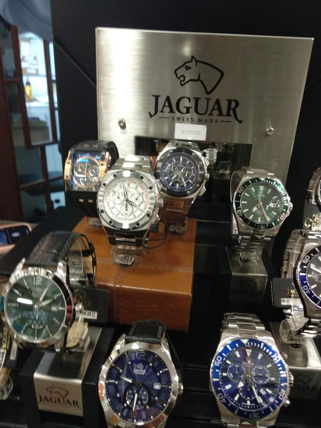 Relojes Jaguar vendedor Andújar