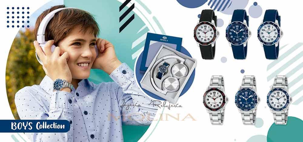 Relojes comunión niño marea con regalo